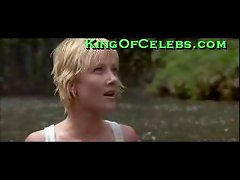 Anne Heche and her very hard nipples