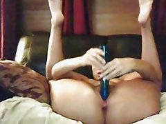 (no sound) Sexy Milf Dildo Play