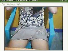 Dirty ladyboy  webcam cum
