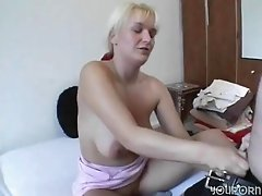 Cute amateur German blonde