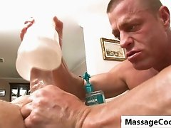 Massagecock with fleshlight