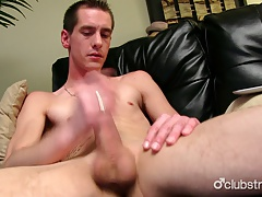 Very Horny Straight Sebastian Masturbating