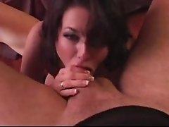Big tits Veronica Avluv giving gigantic dick superb titjob
