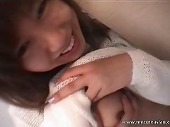 Superb japanese in naughty sex scene
