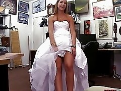 Babe sells her wedding dress and rammed