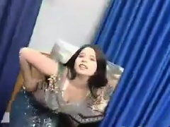 Sweet Indian Dancing And Stripping