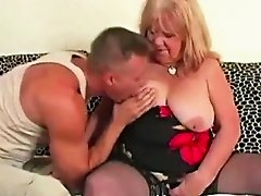 Granny got her pussy banged