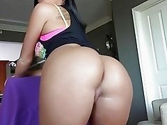 Naughty GF tries out anal sex on camera