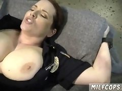 Big ass oiled blonde milf and sexy hd Chop Shop Owner