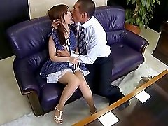 Japanese slut Minami Kojima gets fucked in many poses and facialed