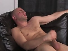 Sexy guy loves touching his private parts just for your pleasure
