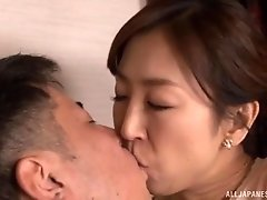 Japanese babe Shinkawa Chihiro wants to suck a dick more than anything