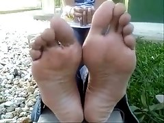 perfection feet - unbelievable sexy big feet long toes
