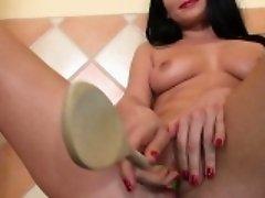 Horny gf titty fuck
