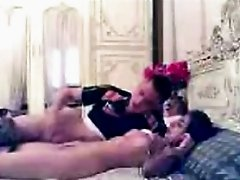 Passionate sex of amateur Arab couple got caught in tape