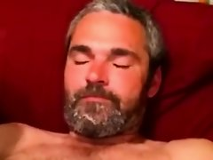 Gaystraight mature gets a sticky facial