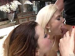 Hardcore glamorous anal orgy with Misha Cross and other sluts