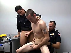 Argentine naked police male and gay cum Two daddies are