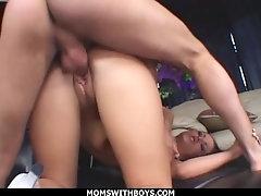 Big Fucking Boobs MILF Carmella Bing Anal Fucked