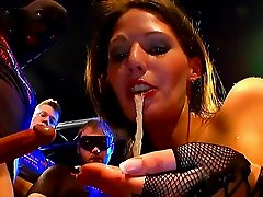 Viktoria is getting her mouth full of tasty sperm