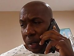 Nurse Sky Rodgers takes big black cock