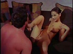 Sensual affair with insatiable brunette babe Dayton Rain