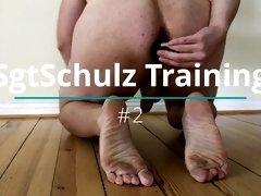 SgtSchulz Training #2 (anal plug, no sound)