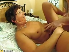 Anneke really likes her toys but the stiff cock will always be better