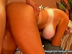 Brittany O Neil gets fucked hard from behind and in missionary pose