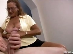 Milf n Teen Suck And Slobber A Big Cock