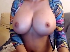 Super-Steamy Black-Haired With Awesome Xxl Orbs - PornGem