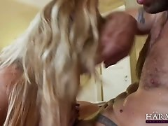 Bombshell Lexi Lowe swallows dick and hops on it like crazy bitch