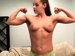 Sexy Fitness Model Skylar Has To Do Everything