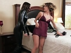 Fucking each other with toys is what Evelin Stone and her friend like