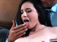 Sexy young wife Casey Calvert hot sex scandal