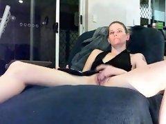 Blonde college girlfriend hotel amateur masturbation