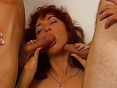 Vintage Double Penetration Beautiful Tall Chick