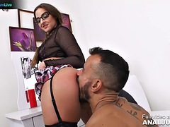 Amirah Adara wakes him up for sex in the morning by Just ANAL powered by Only3x