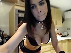 Masturbating Sexy Webcam Babe Big Boobs Webcam Solo