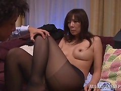 Japanese hot mature babe gets fucked and sucked in position 69