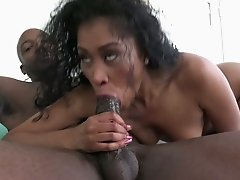 Yasmine De Leon is ready for some rough sex and she is so hungry