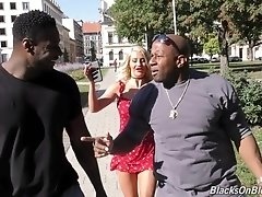 Sienna Day gets double penetrated by big black cocks