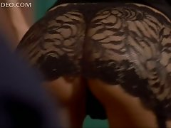Hot Boti Bliss Strips To Her Lingerie and Flashes Her Big Round Jugs