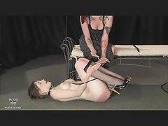 Mature lesbian bondage