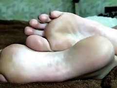 sasha foot fetish solo