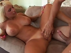While dancing on a stripper pole this MILF gets boned hard