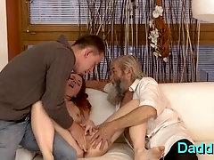 Shameless blonde damsel enjoys deep penetration