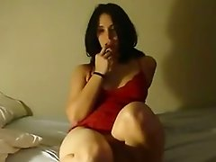 Chubby and cute Indian lady licked and fucked by a Brit