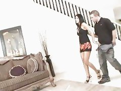India Summer gets it on couch.