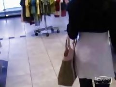 Public Sex In A Store Changing Room